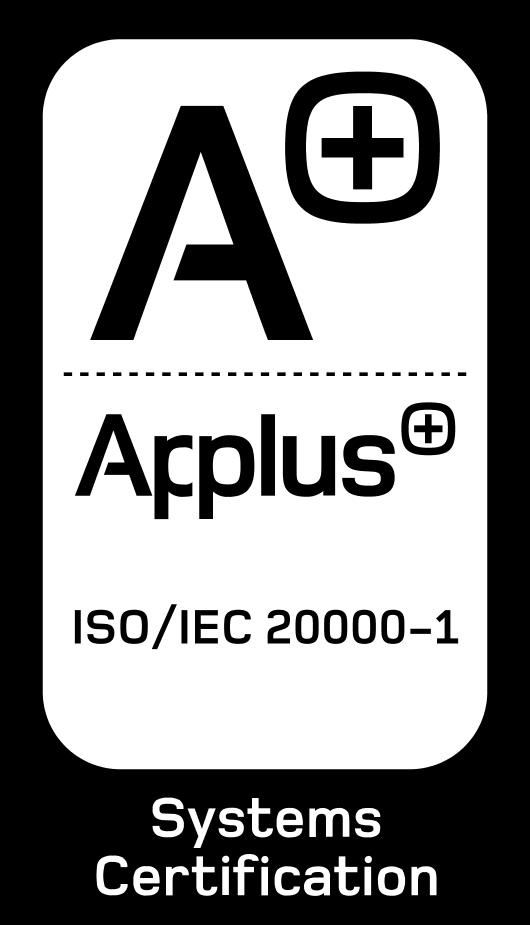 certificado ISO 20000-1